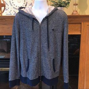 Express full zip hooded sweatshirt